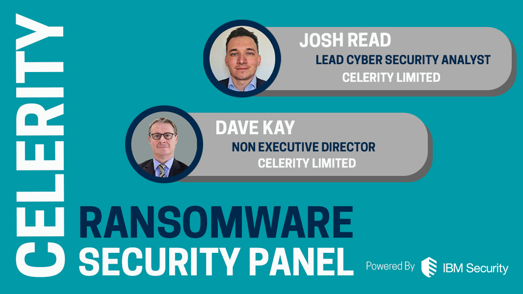 Celerity Presents - Security Panel_ Ransomware