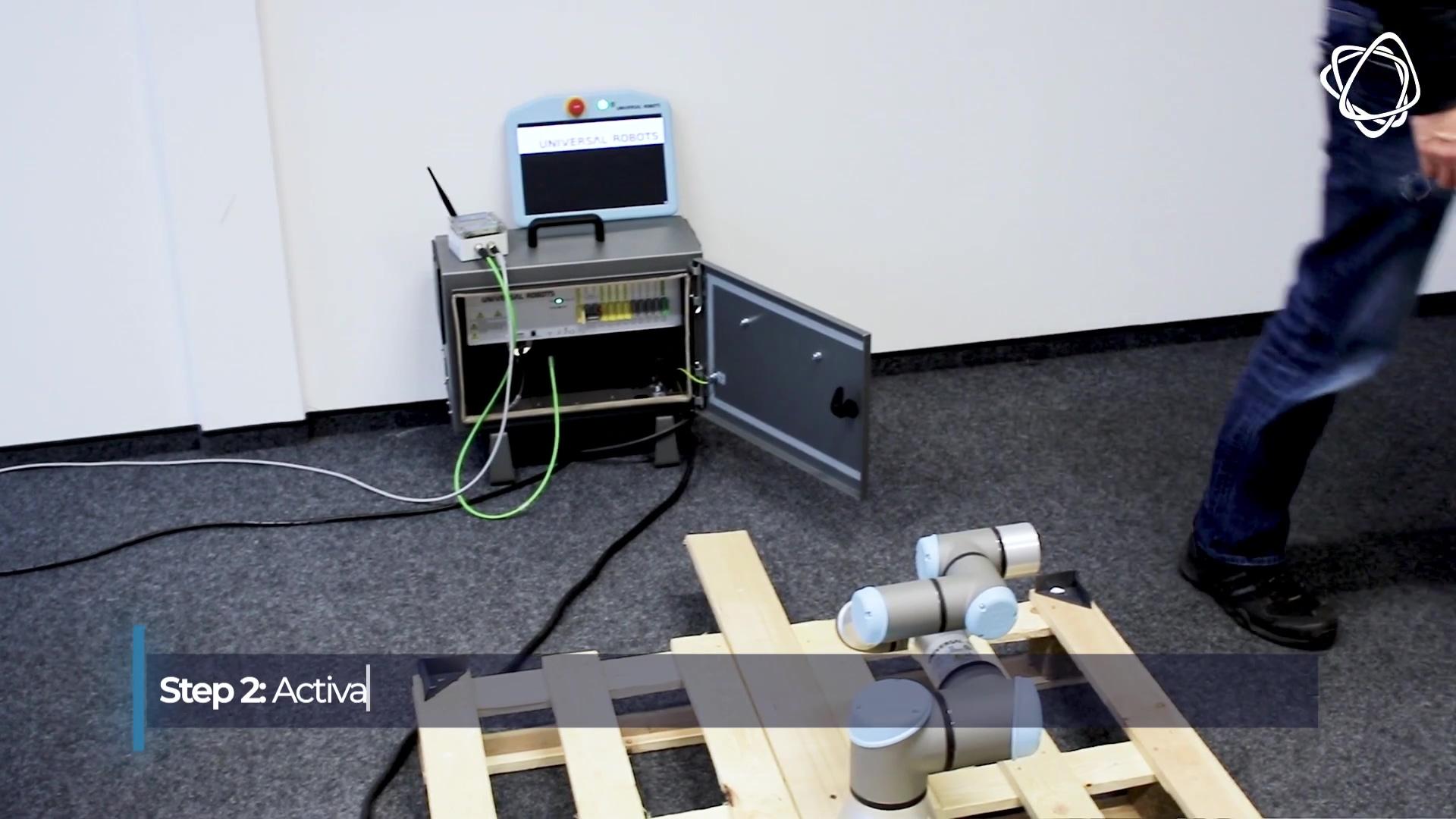 EchoRing Universal Robot Demo
