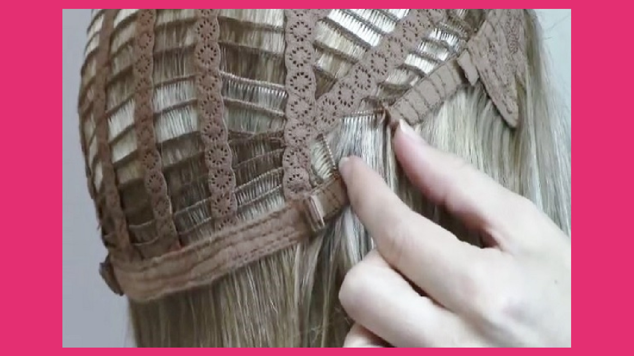 Video How to Make a Wig Larger