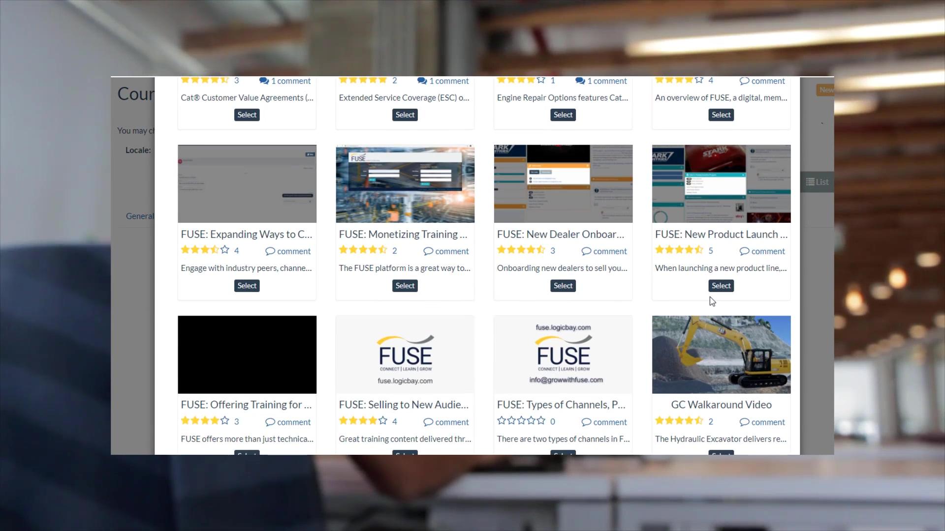 Videos into Courseware