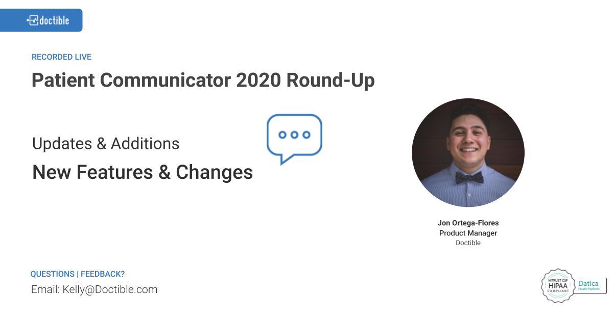 2020 PC Round-up