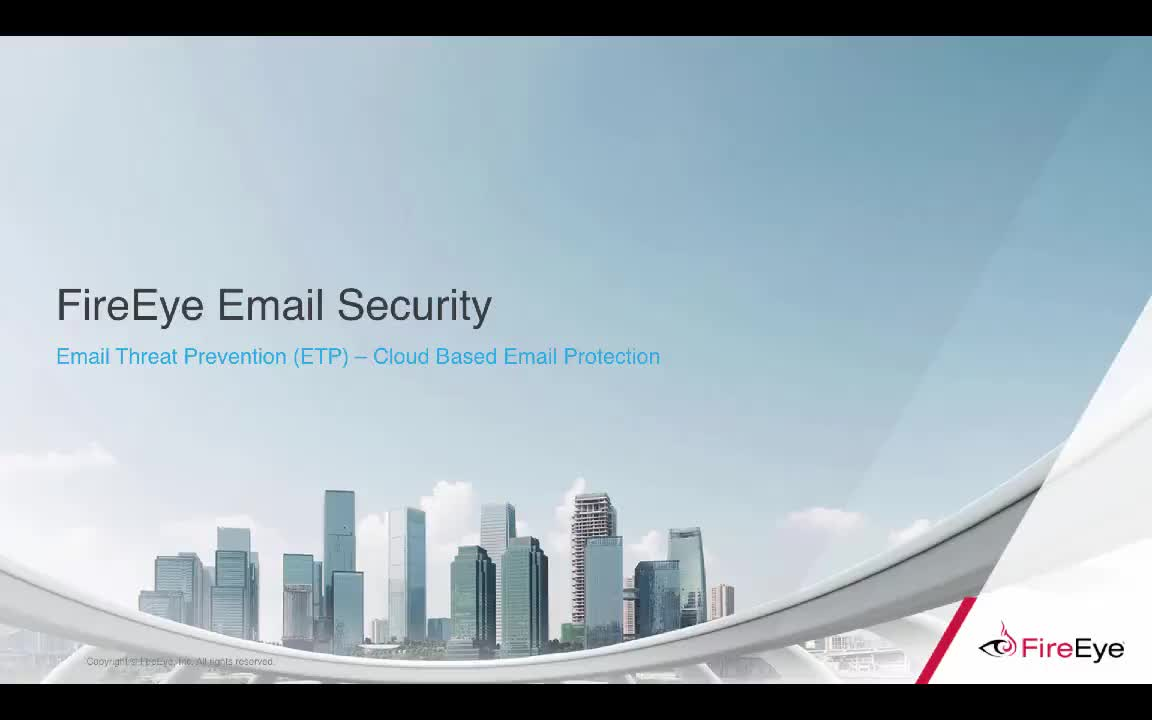 FireEye Email Threat Protection (ETP)
