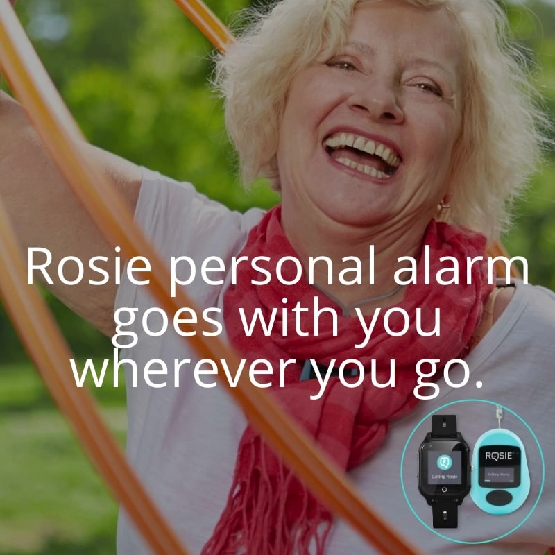 Rosie Lifestyle Video pendant and watch