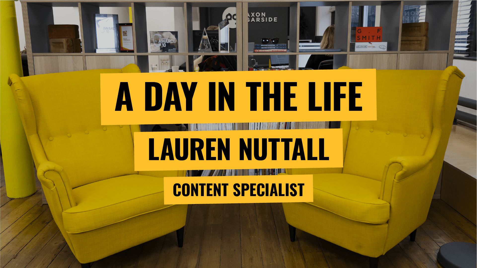 A day in the life - Lauren Nuttall - Content Expert