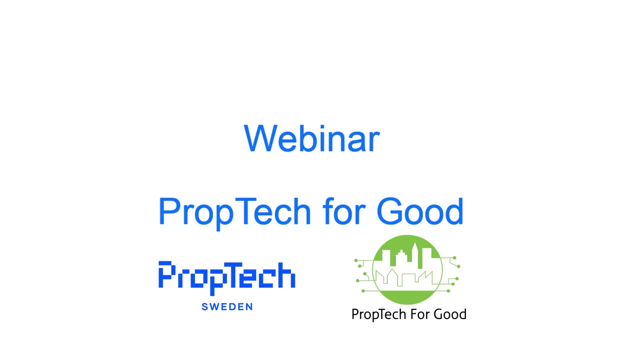 PropTech for Good Summary