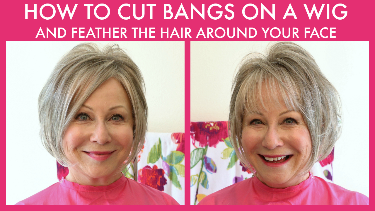 How to Cut Bangs on a Wig