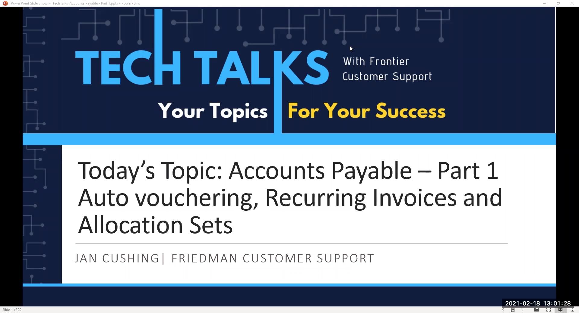 Gmt20210218-185229 Tech-Talk--Accounts-Payable--Part-I 1920X1040-Edited-1