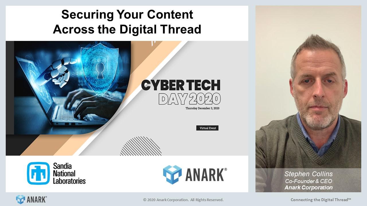 Essential Elements to Create a Secure Connected & Collaborative Digital Enterprise - DOE Dec2020