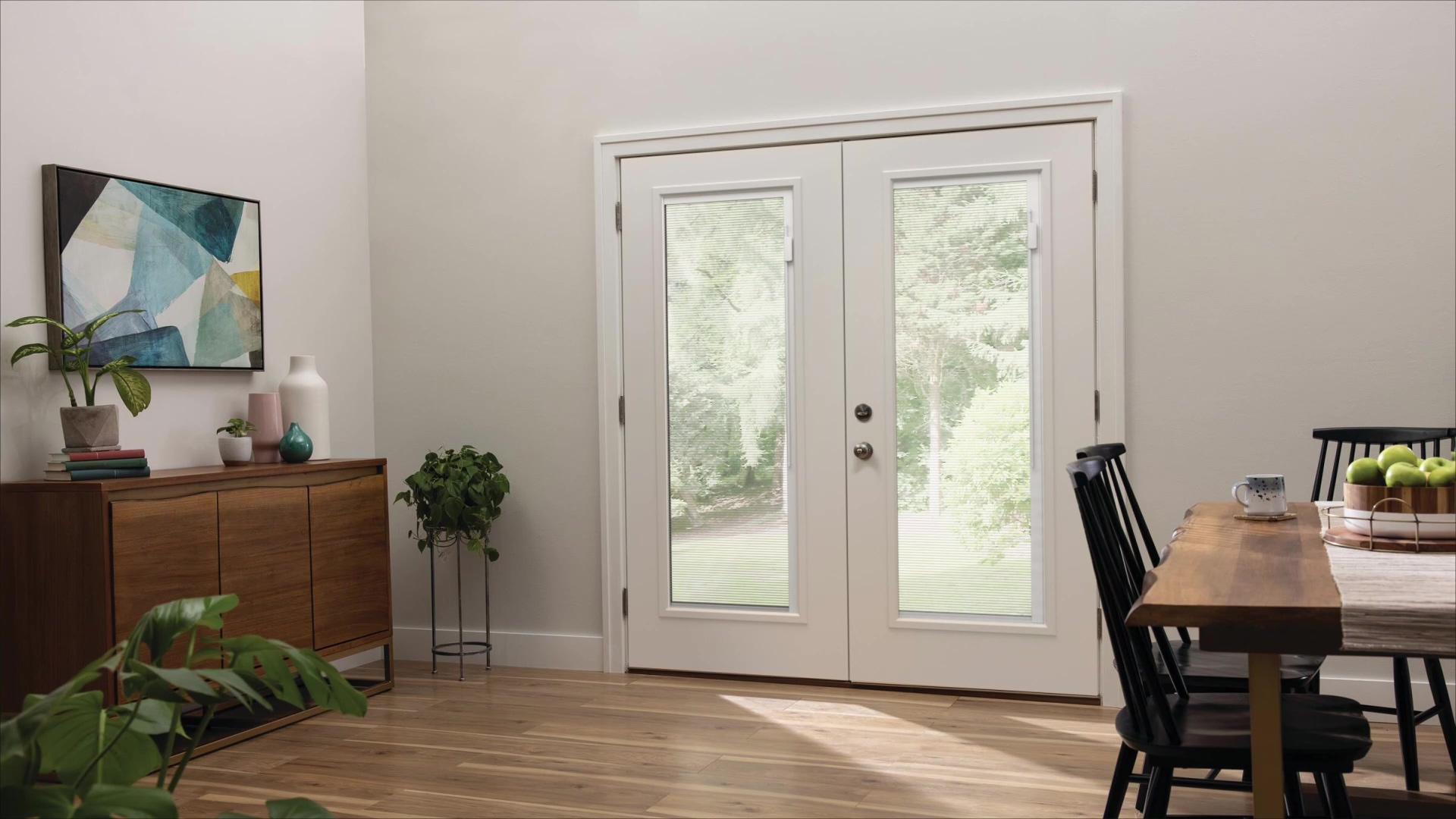 First Look Blink Entry Doorglass