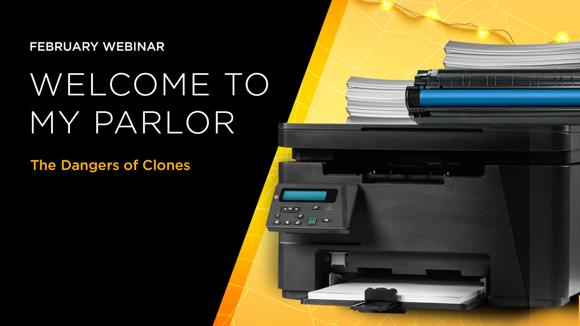Welcome to My Parlor Webinar