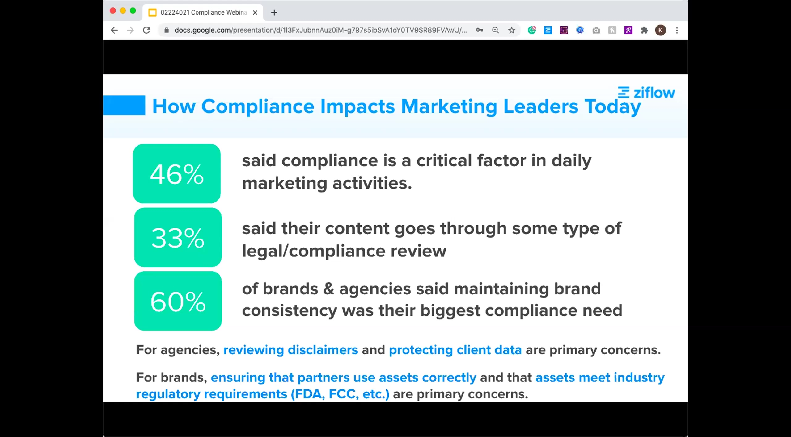 2.24.21 Webinar - 4 Ways Marketers Are Simplifying Compliance Review in 2021.