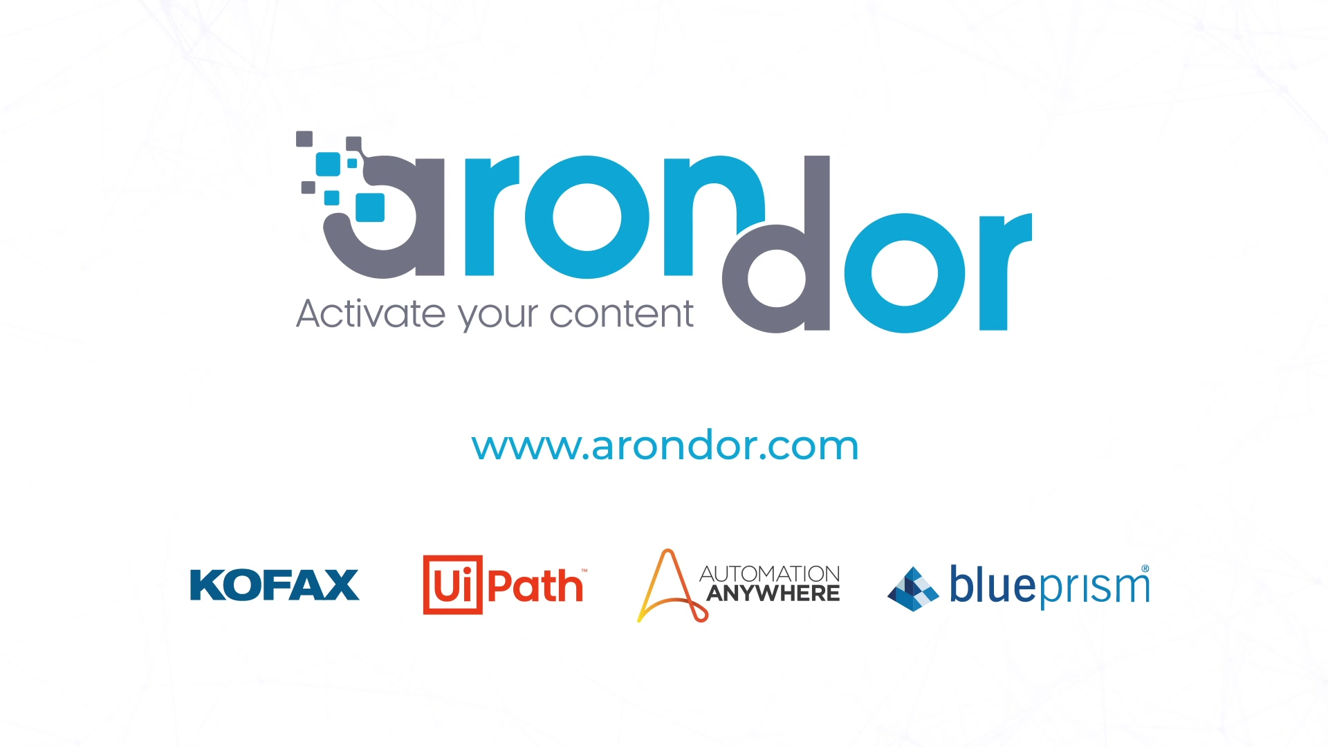 Arondor - Vidéo RPA 2021