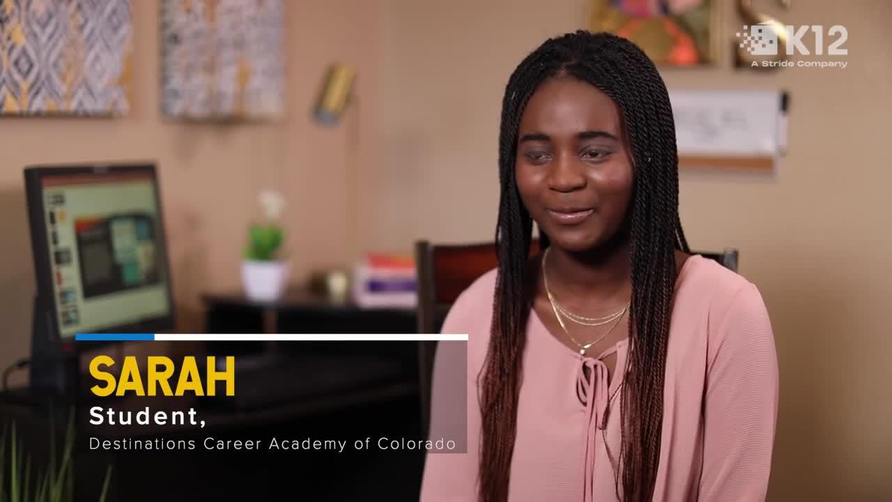 Qué sucede cuando un alumno elige Stride Career Prep