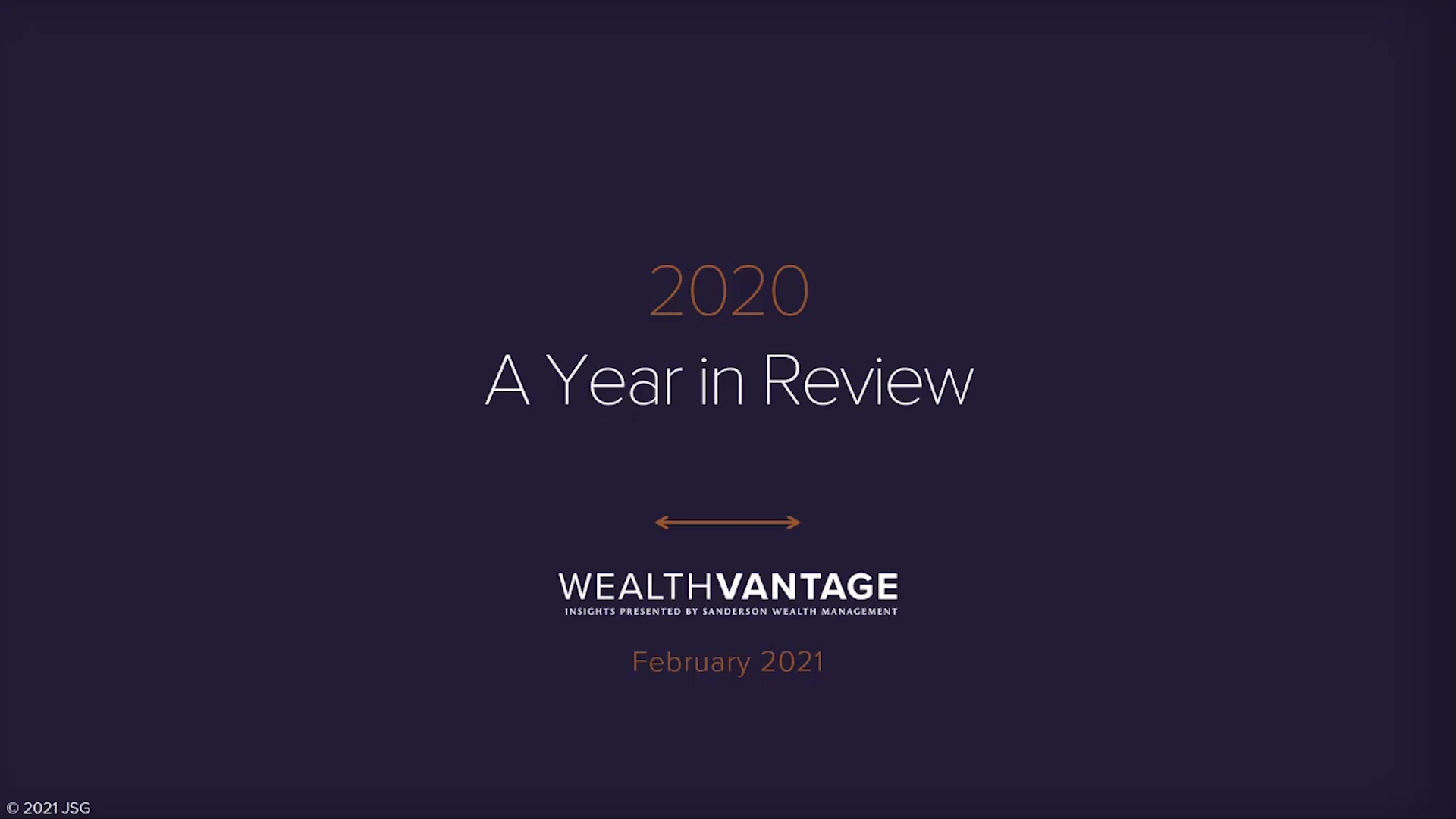 2020 A Year in Review
