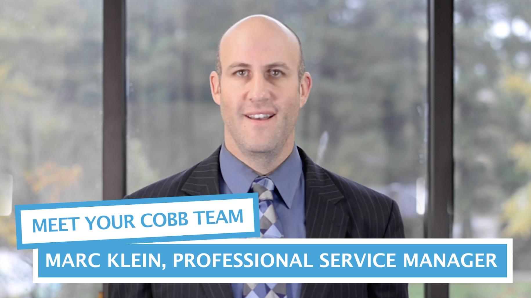 Meet Your Team - Marc Klein