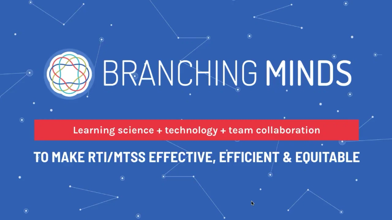 Branching Minds, a System Level Solution (public video)