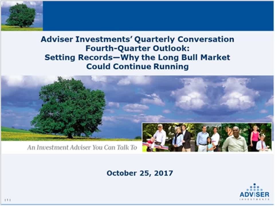 Adviser Investments' Third-Quarter Outlook Second-Half Investment Opportunities and Real World Risks