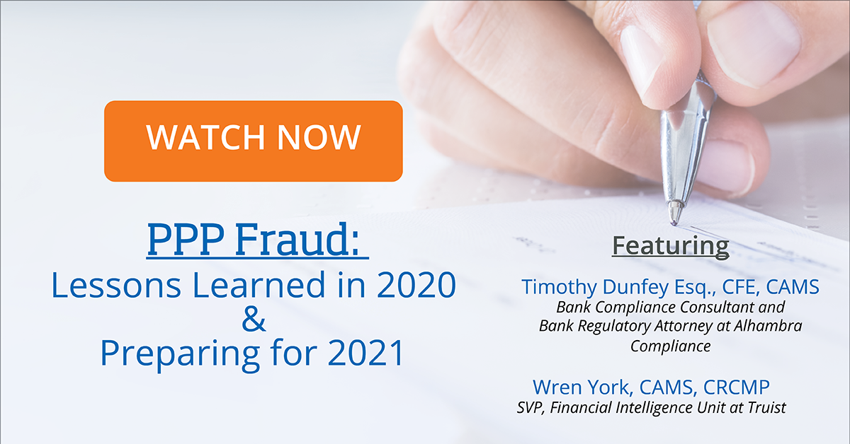 Webinar - PPP Fraud Learning from 2020 and What to Expect in 2021-20210225 2001-1