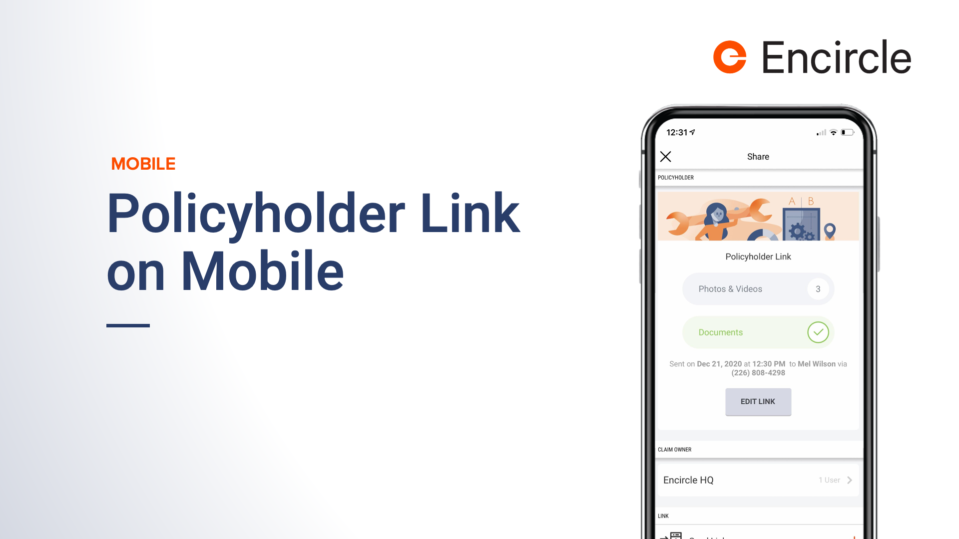 2-Policyholder-Link-on-Mobile-Whats-New-at-Encircle-Webinar