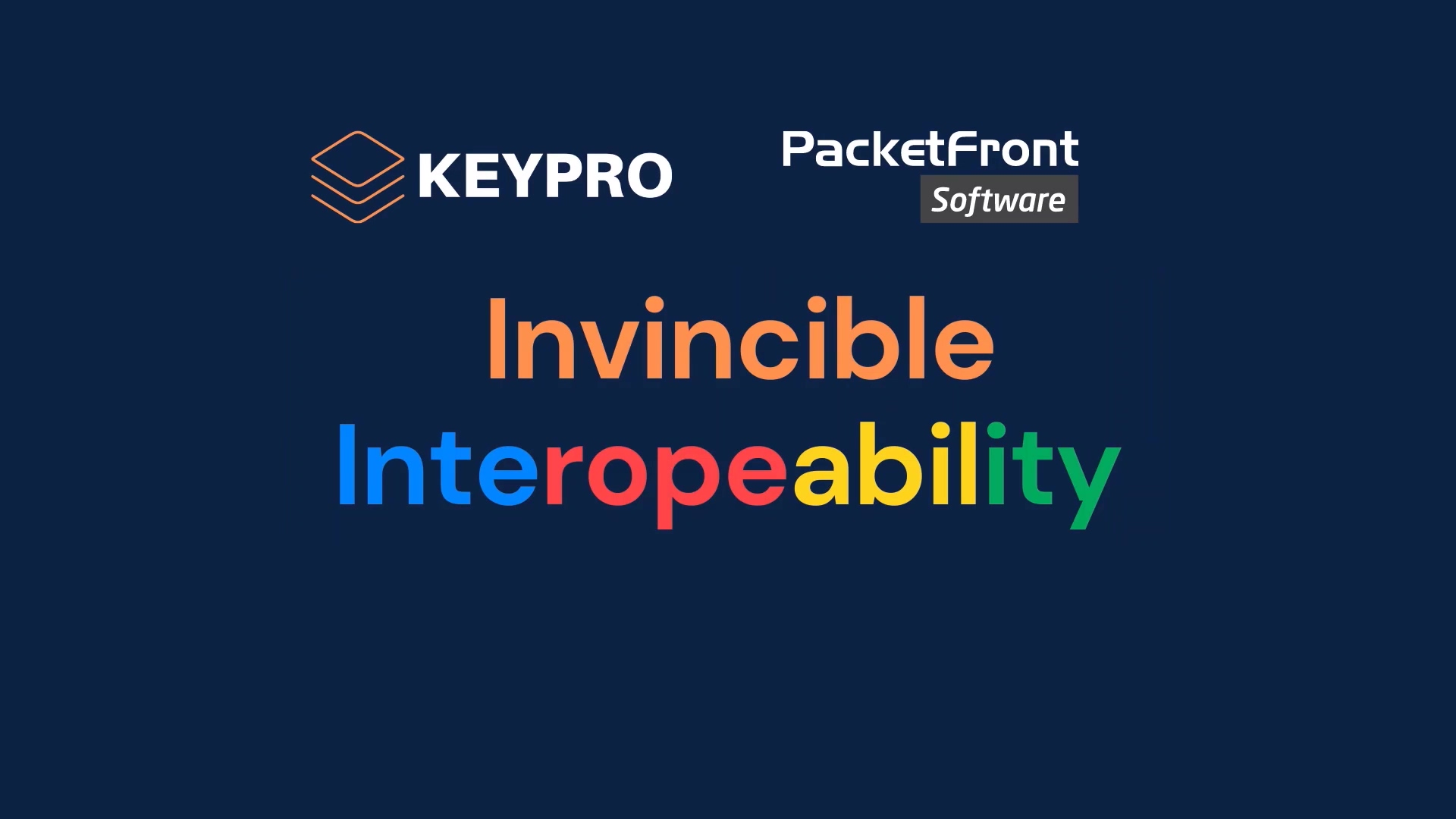 PacketFront - Invincible Interoperability