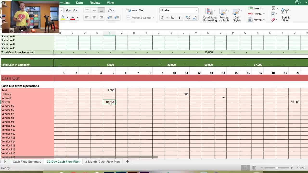 Get The Best Cash Flow Forecast in Excel