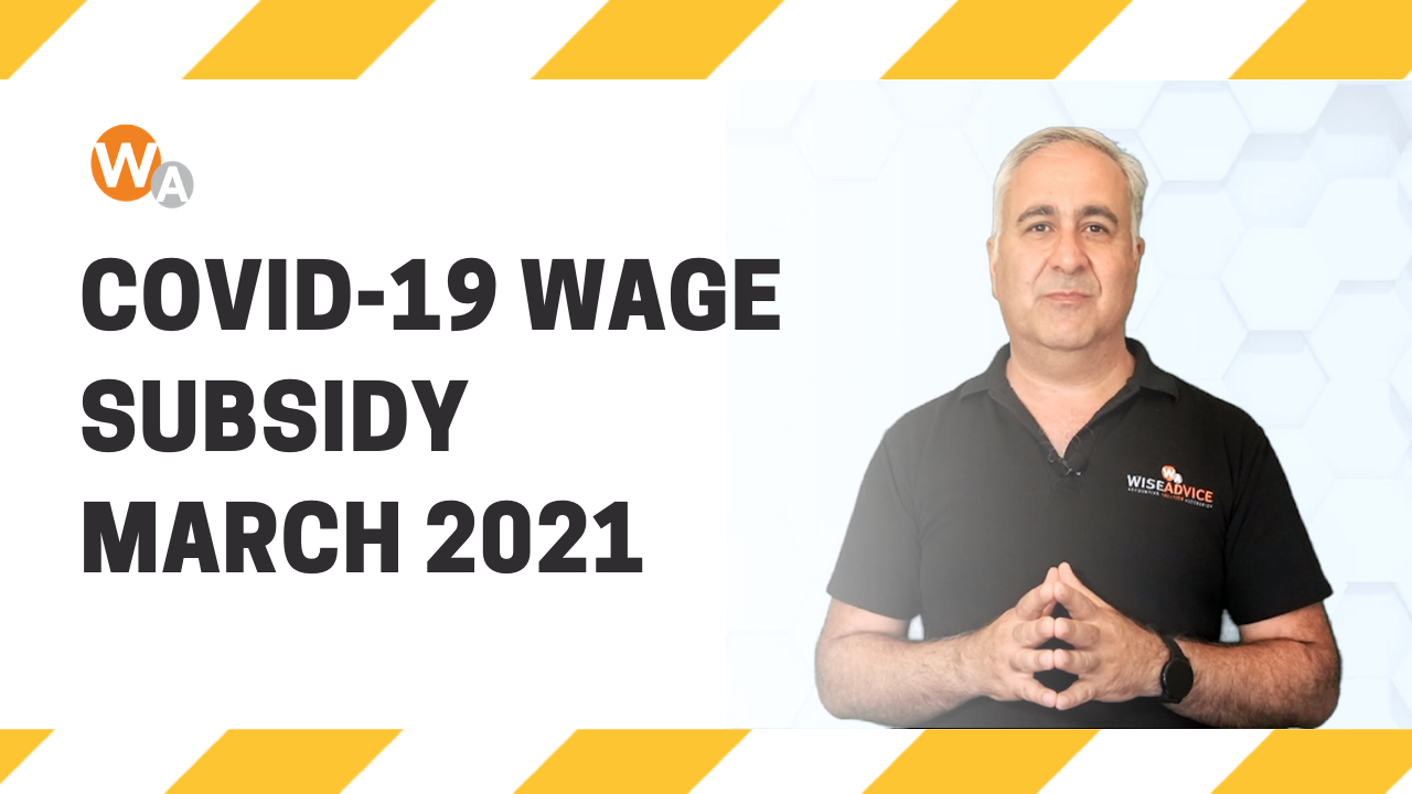COVID-19 Wage Subsidy March 2021