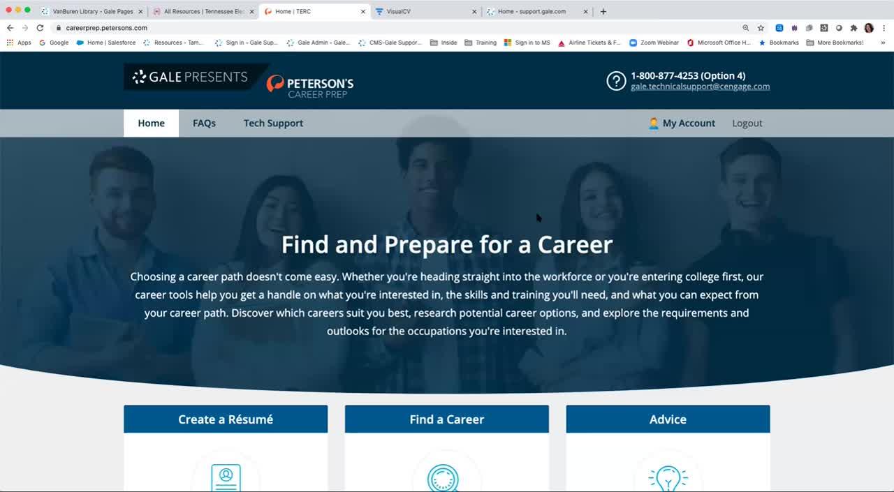 For TEL: Workforce Support - Resume Builder Thumbnail