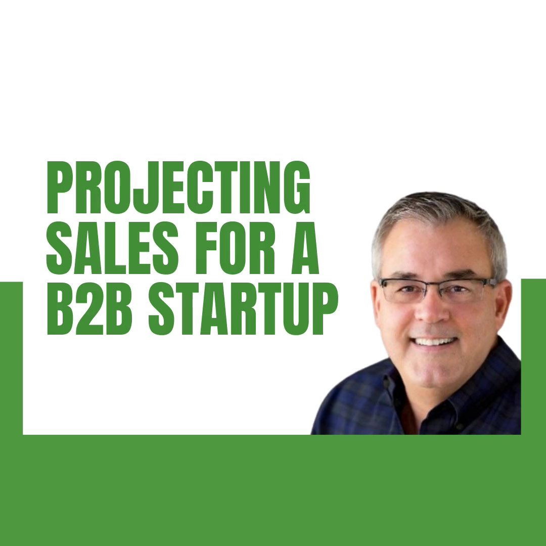 3.4.2021 - KR - Startup sales - how to project sales for a startup business_
