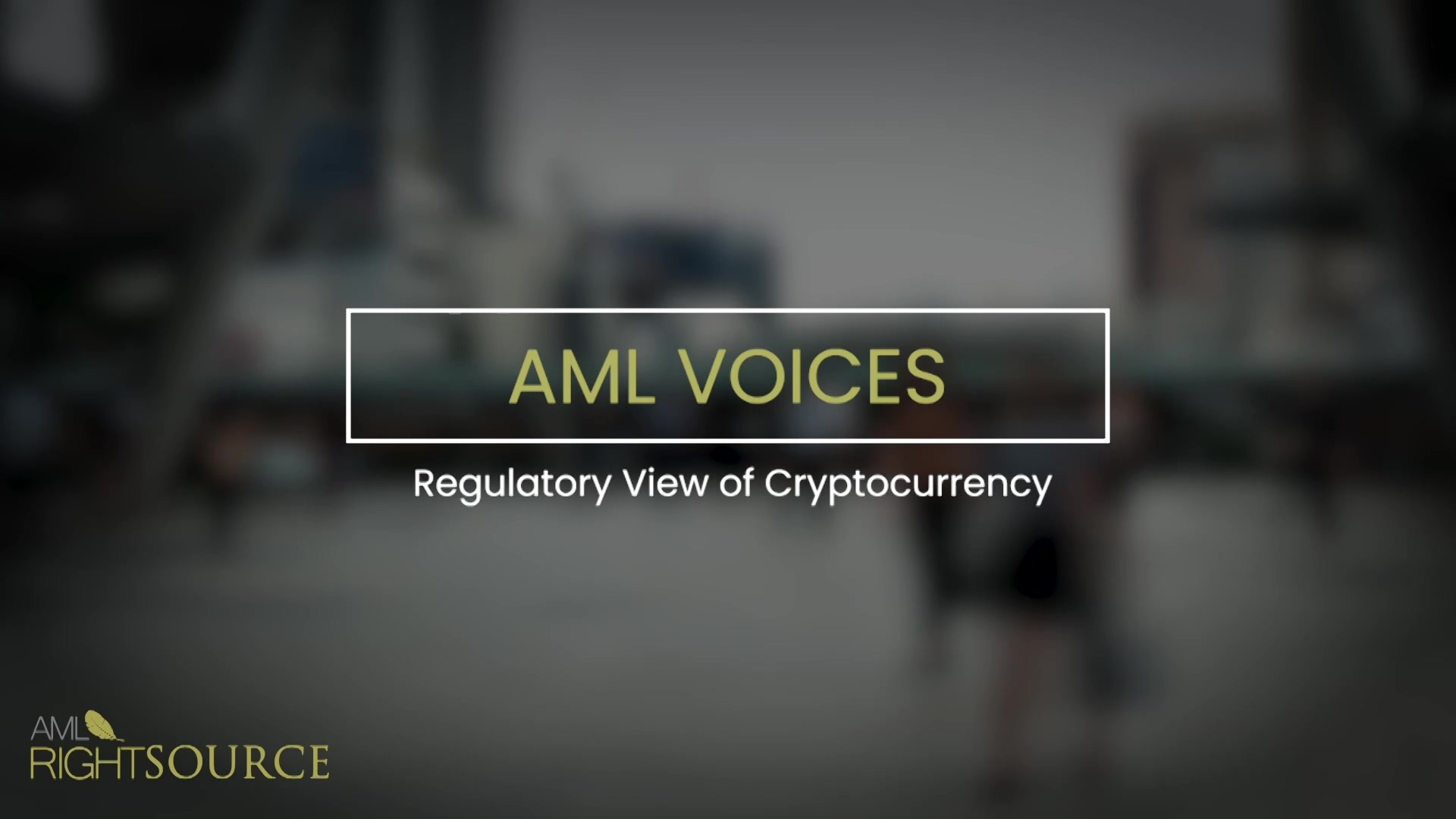 Regulatory View of Cryptocurrency