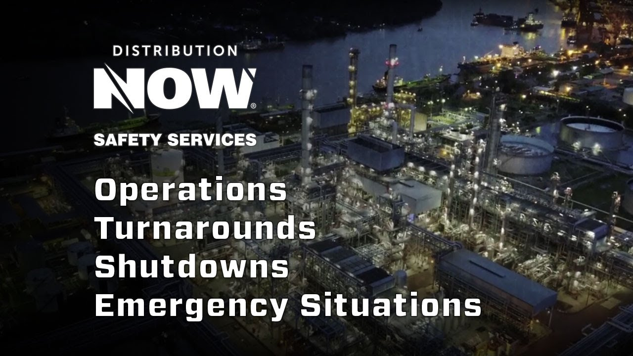 Safety Services & Turnaround Support _ DistributionNOW