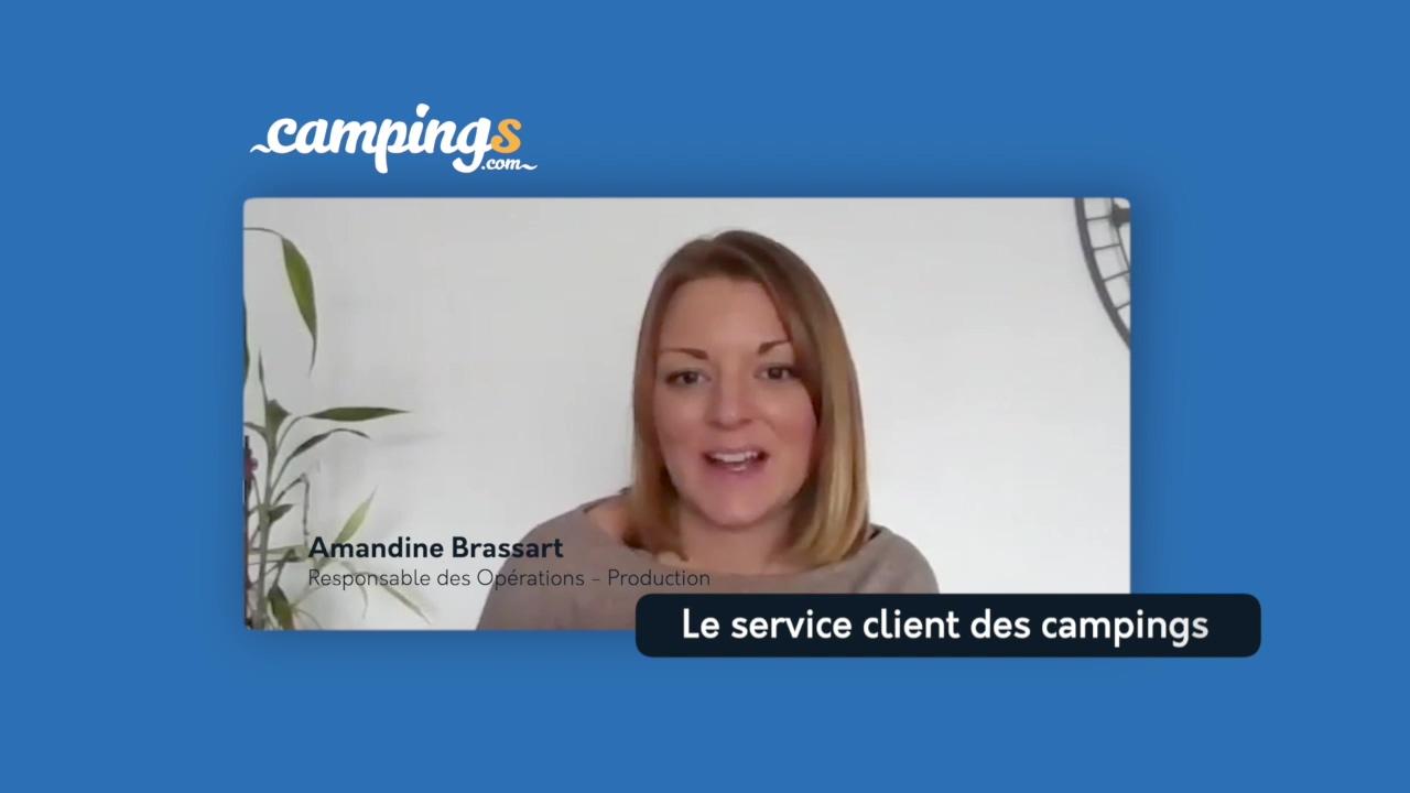 Campings.com interview Amandine Support Technique Production