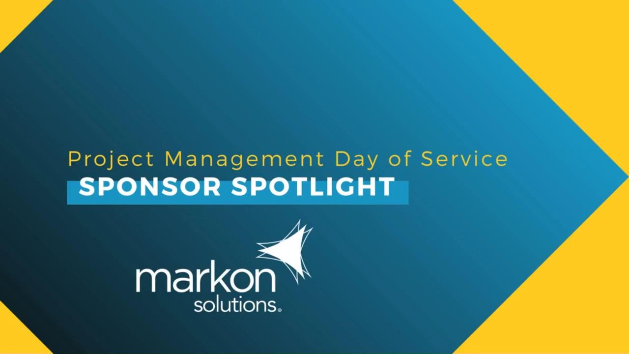 2021 PMDOS Sponsor Spotlight Video - Markon Solutions