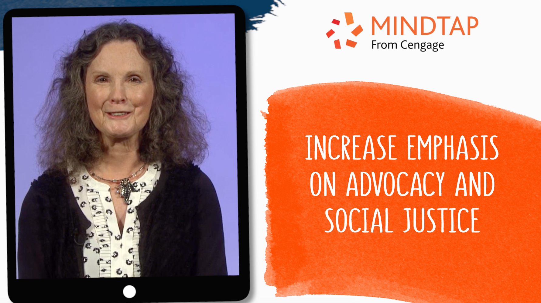 Increase Emphasis on Advocacy and Social Justice