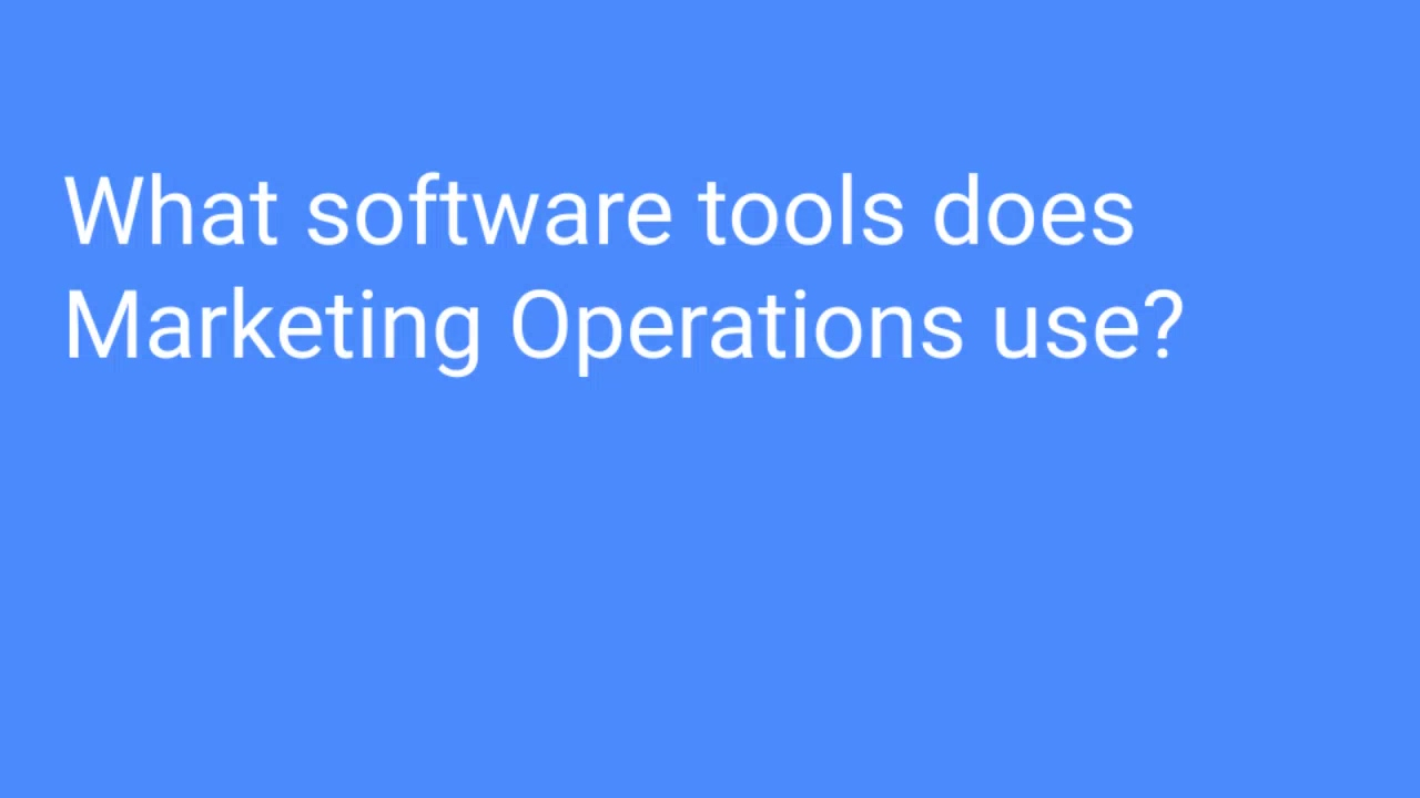 What software tools does MOPs use_ ‐ Made with Clipchamp