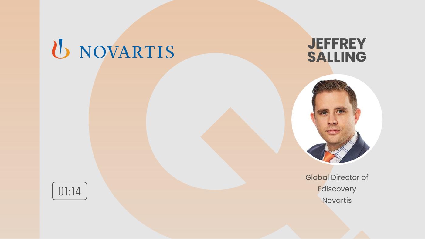Text IQ Testimonial  Jeffrey Salling Global Director of eDiscovery Novartis_1080p