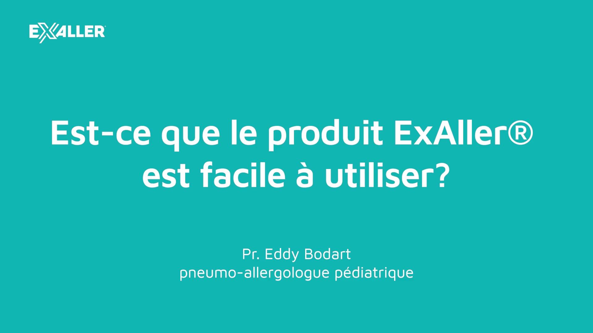 E7 La facilité dutilisation du traitement anti-acariens ExAller