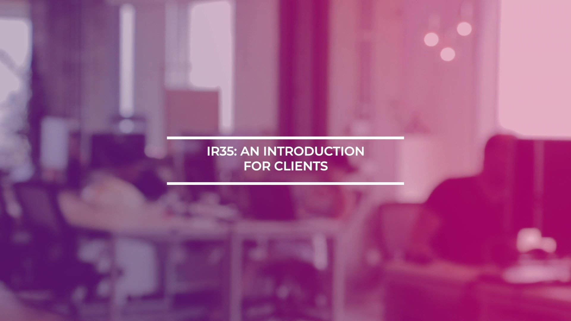 Introduction For Clients