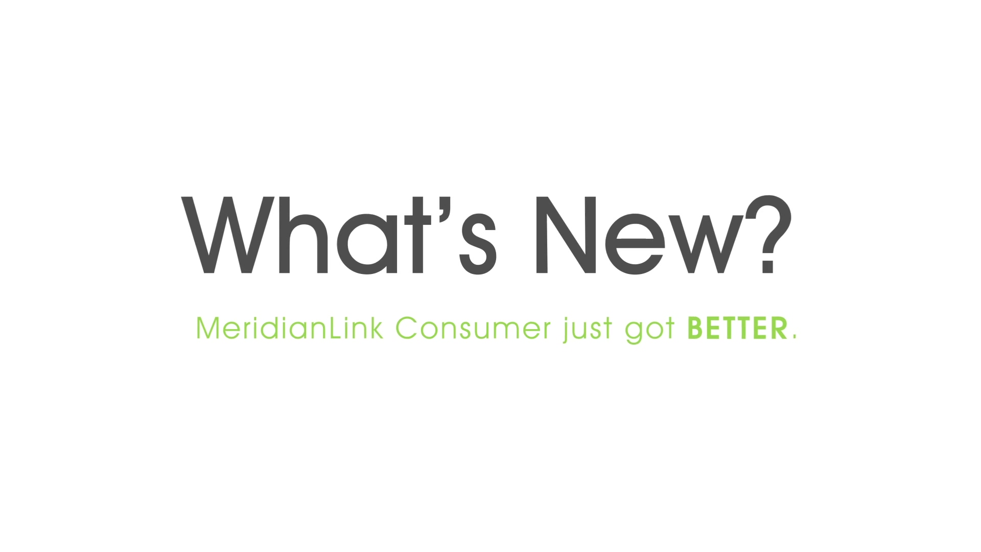 New-MeridianLink Consumer-ModernExperience