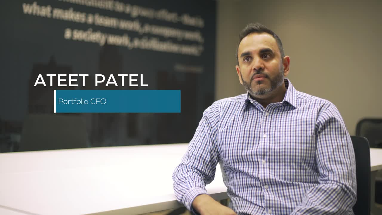 Financial Autonomy Post-acquisition- Ateet Patel