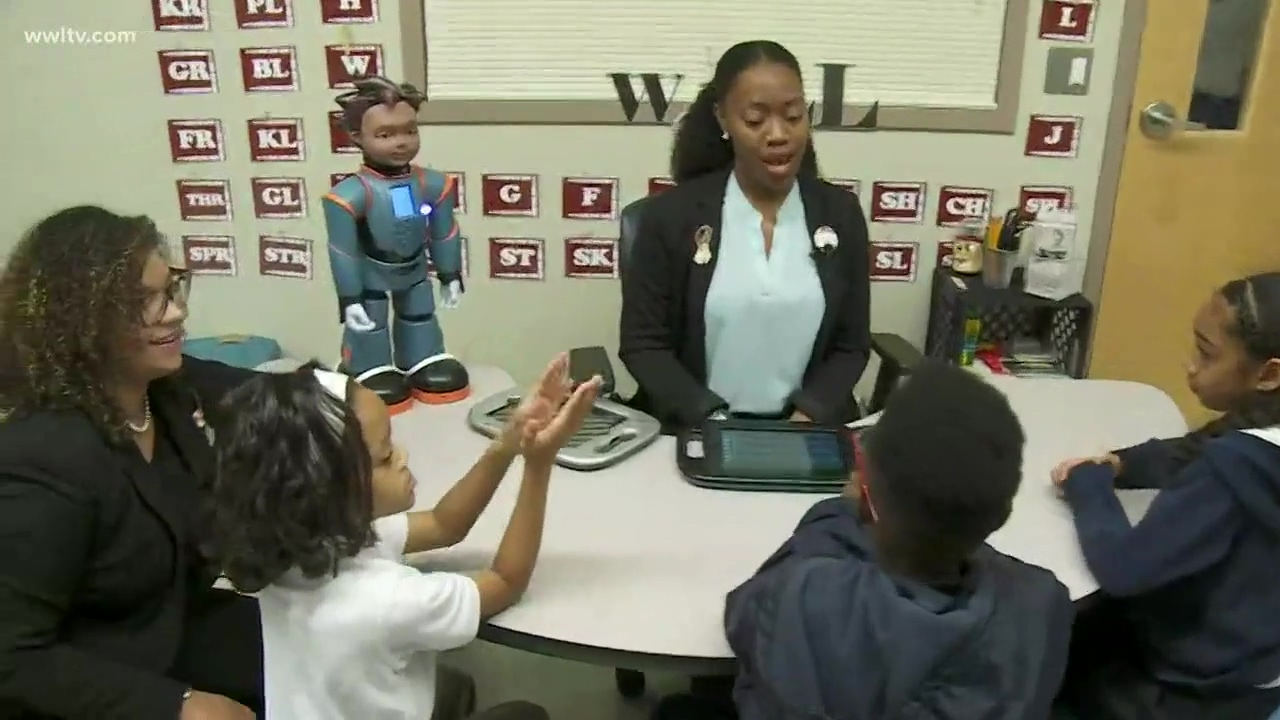 New Orleans Milo robot is changing the way students with Autism learn