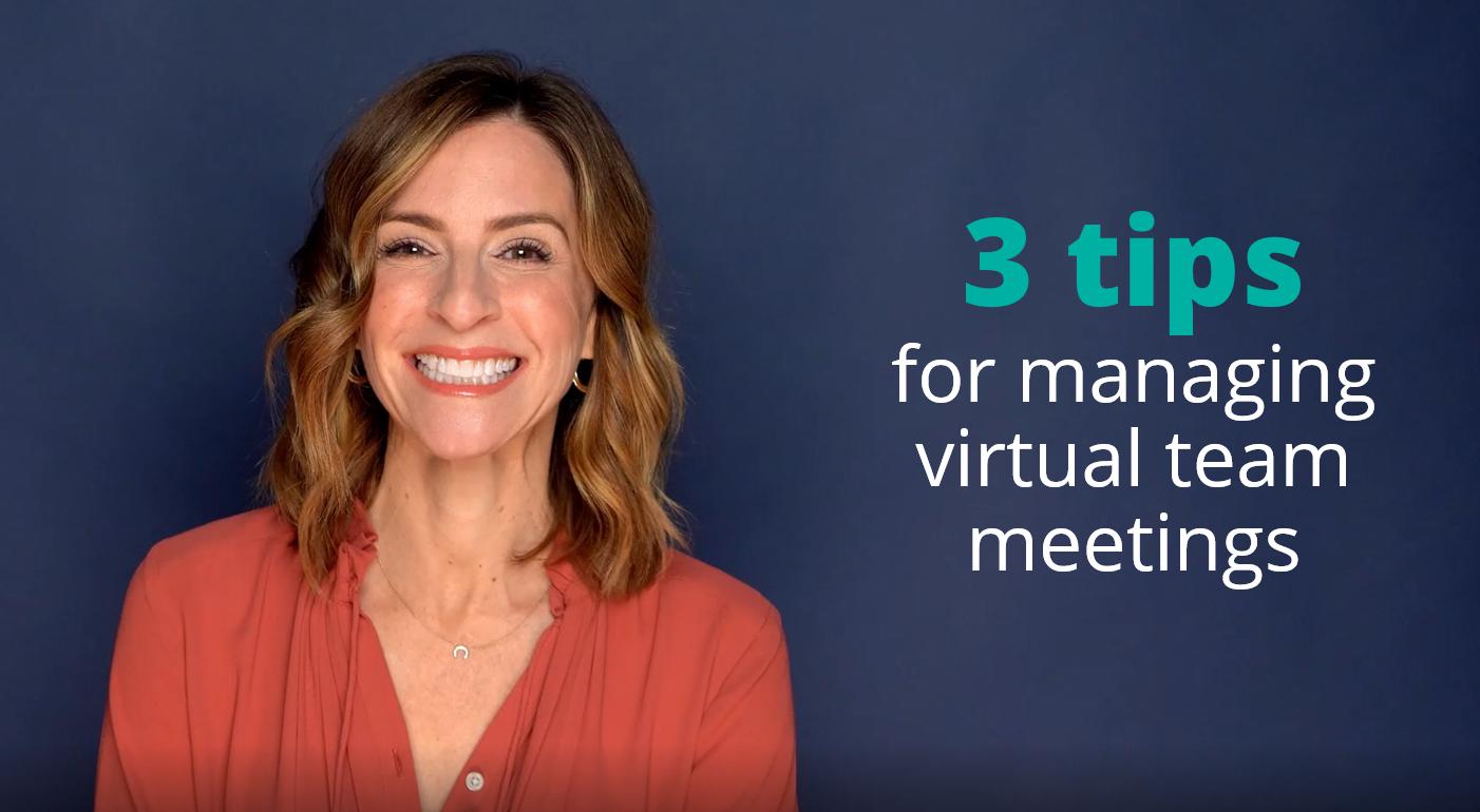 How to Run Effective Virtual Team Meetings