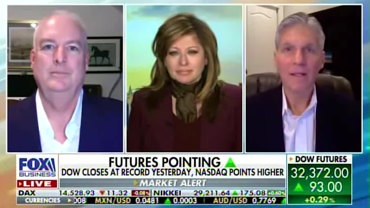 Lowell With Maria Bartiromo: Markets Running on Stimulus, Vaccines