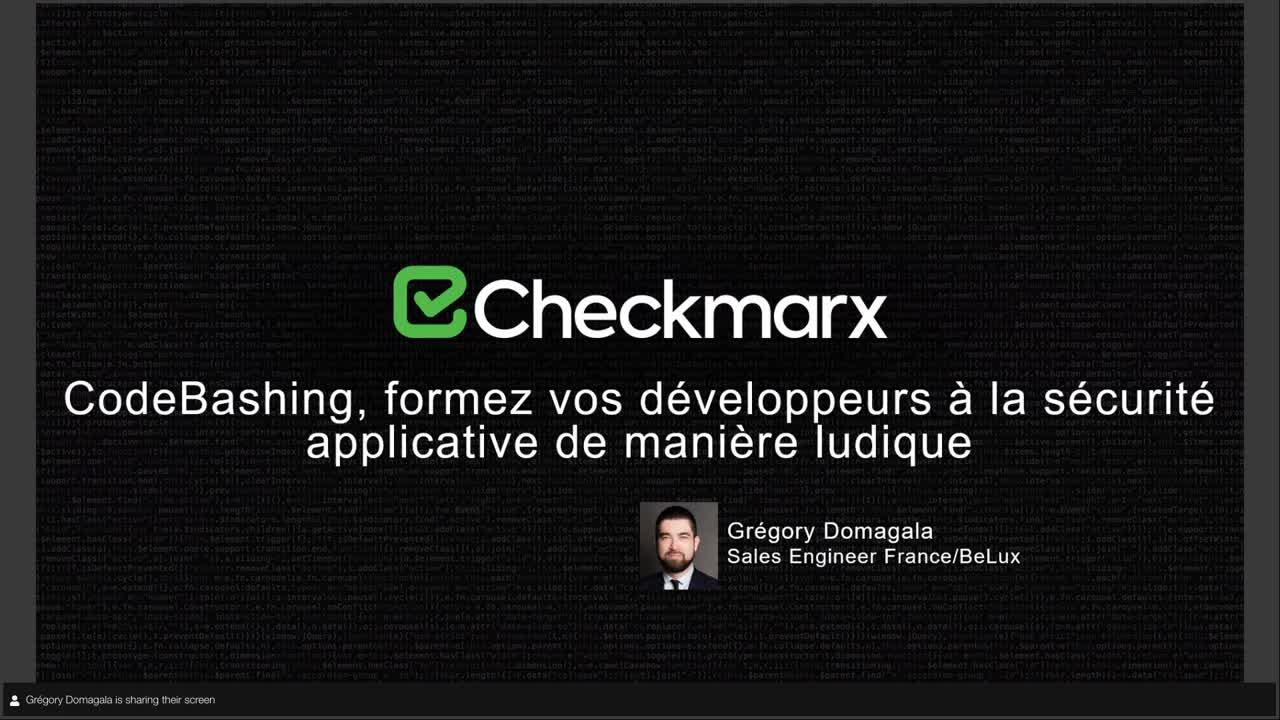 Webinar: Formez vos développeurs à la sécurité applicative de manière ludique