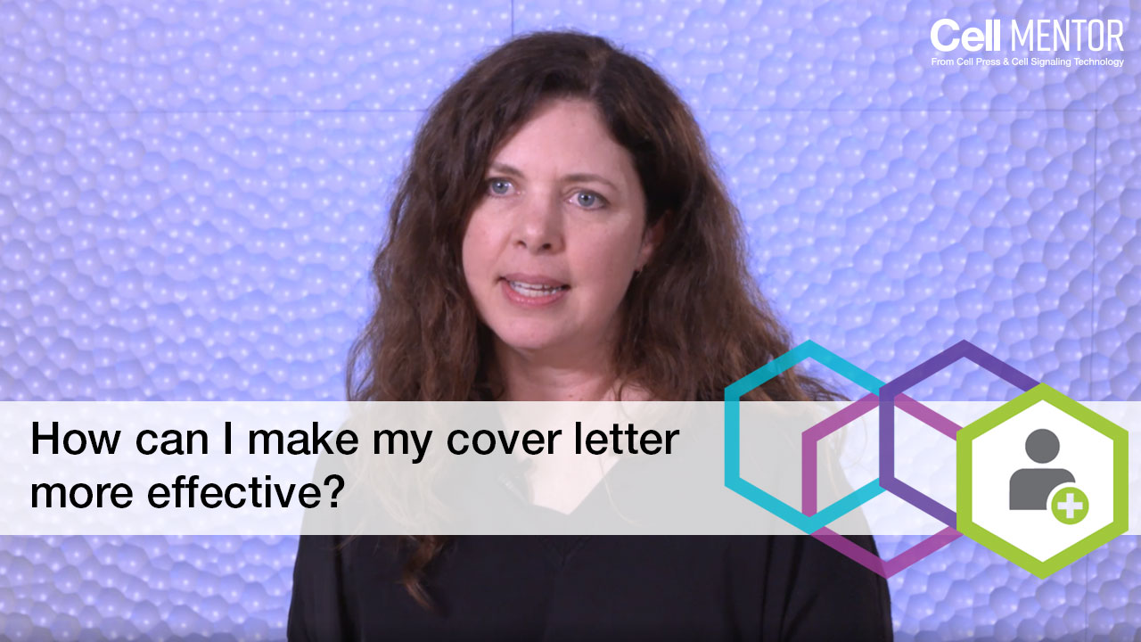 Get Hired - How can I make my cover letter more effective