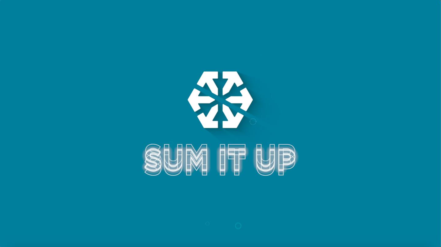 Sum It Up Epi. 0