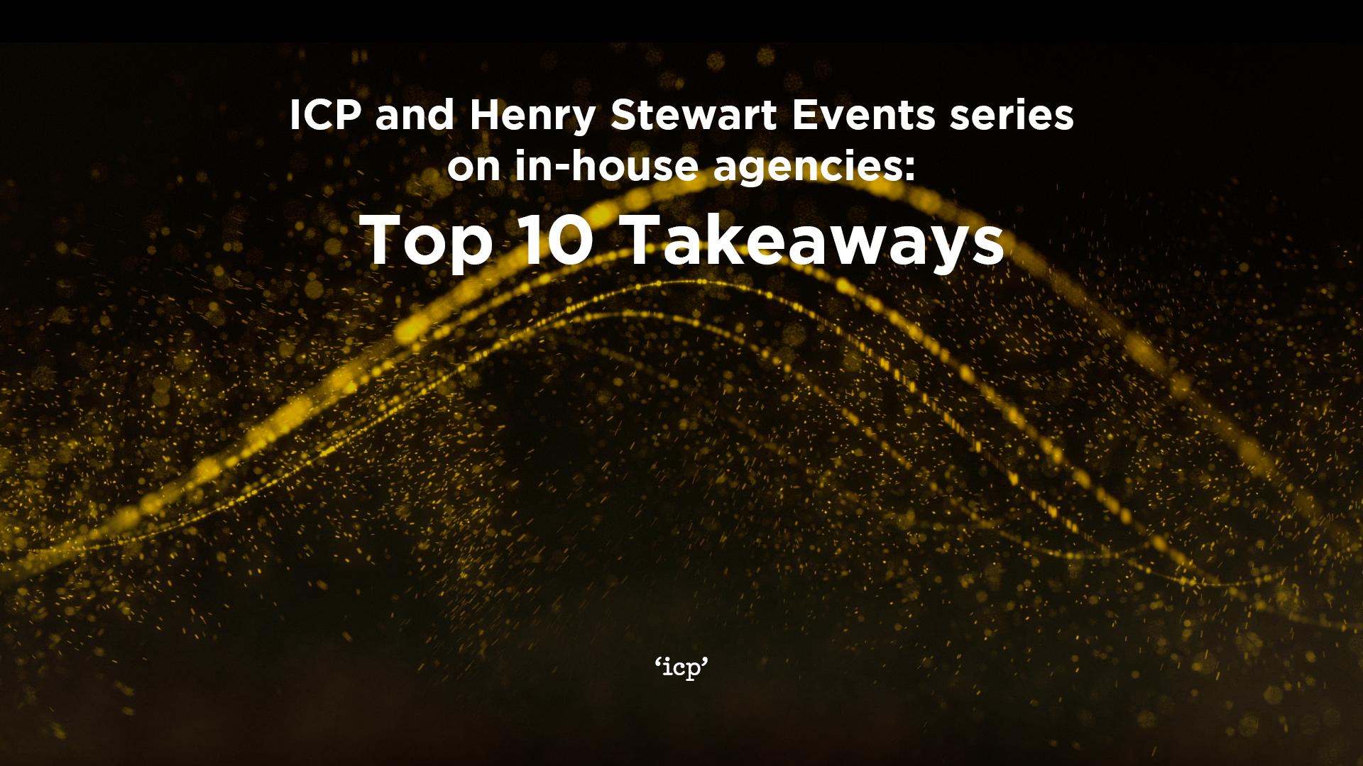 ICP Henry Stewart IHA