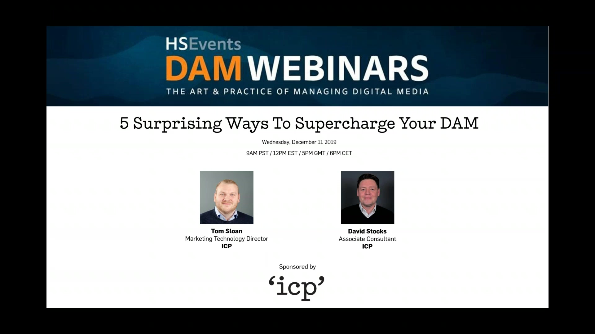 6) 11 December 2019 - 5 Surprising Ways To Supercharge Your DAM