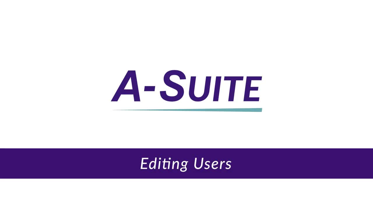 2.2_Editing Users in A-Suite