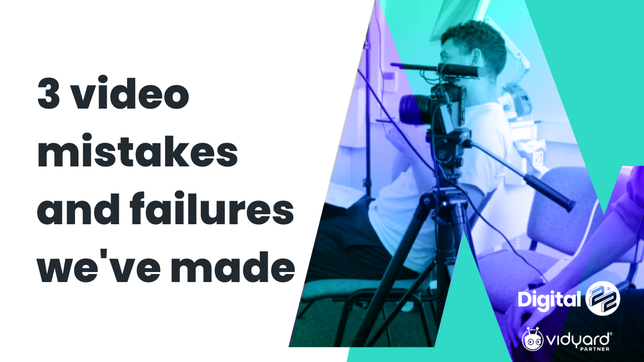 3 mistakes to avoid when using video in business