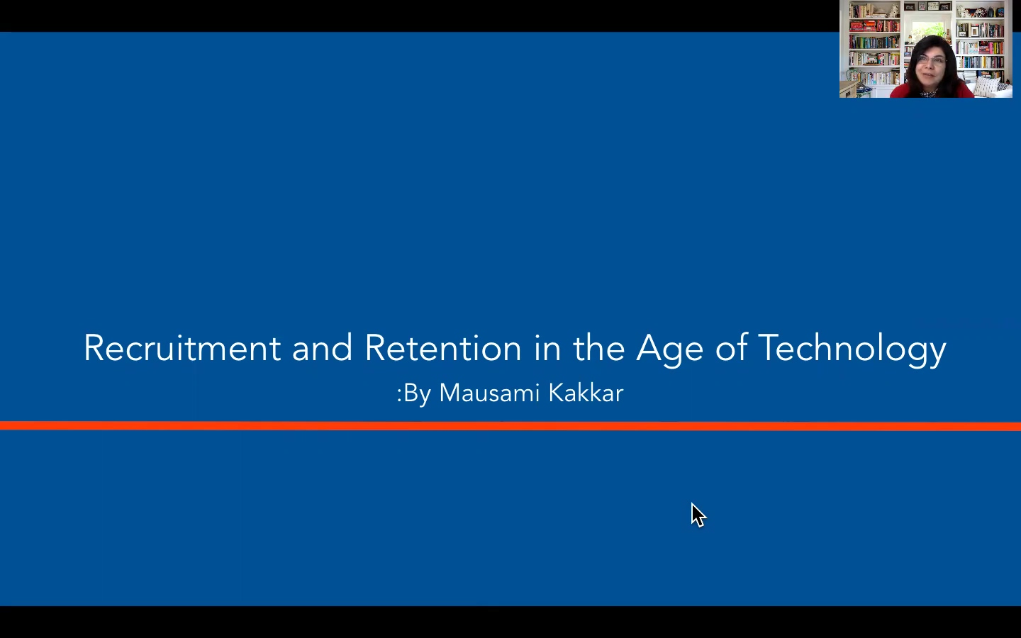 Recruitment and Retention in the Age of Technology-M.Kakkar